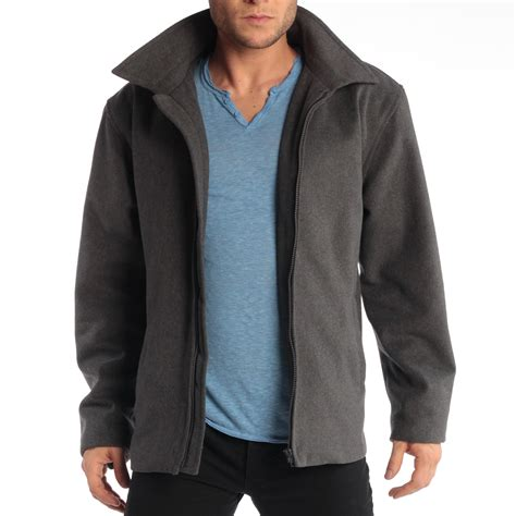 Perry ellis open bottom leather jacket with lining coats jpg 1500x1500